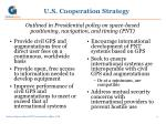 u s cooperation strategy