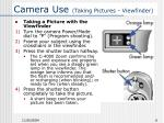 camera use taking pictures viewfinder