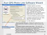 run gps photo link software wizard14