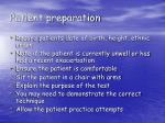 patient preparation17