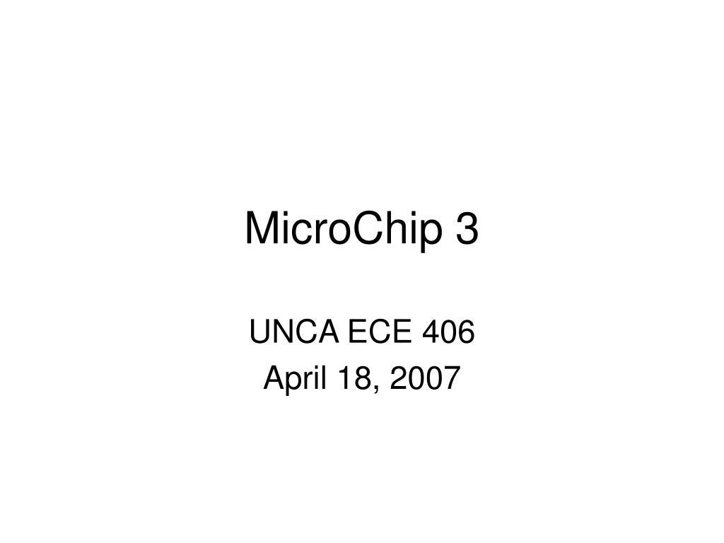 microchip 3 l.