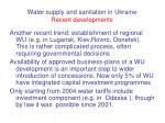 water supply and sanitation in ukraine recent developments26
