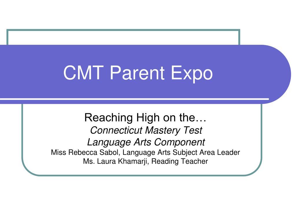 cmt parent expo l.
