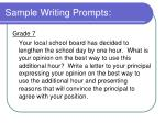 sample writing prompts15