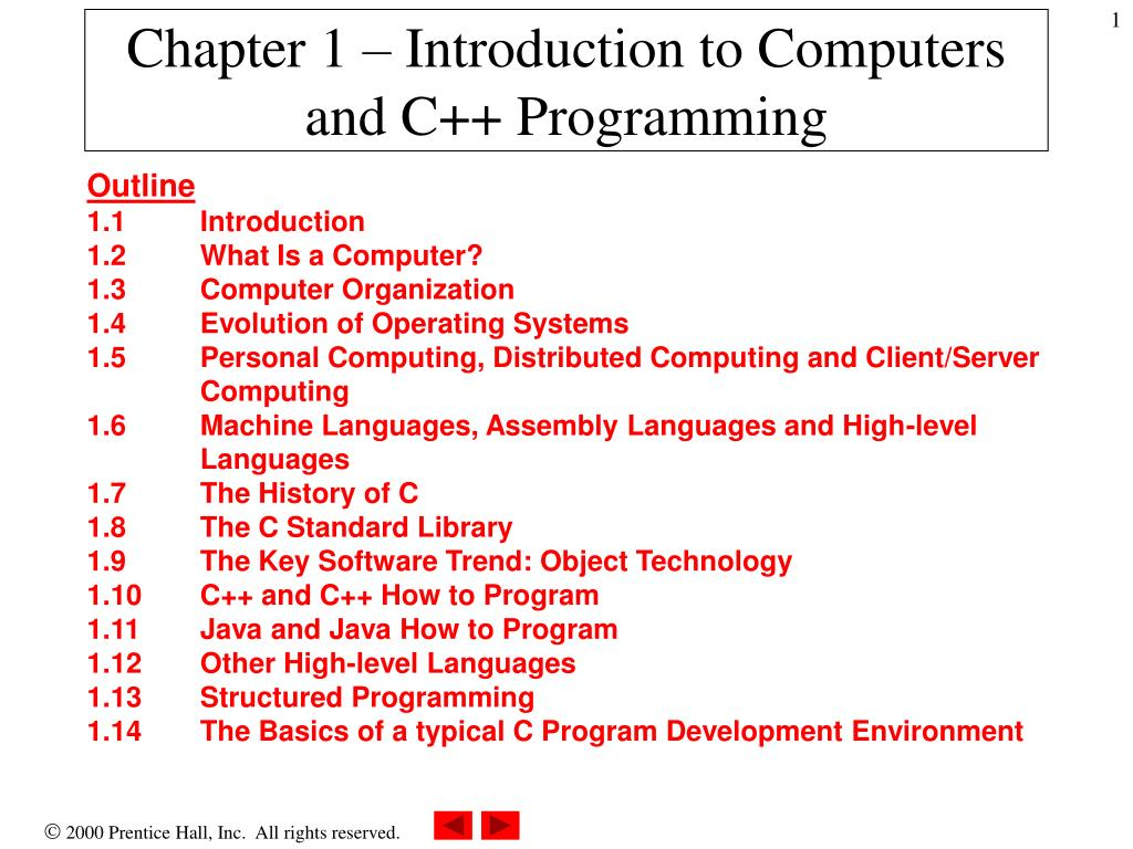 chapter 1 introduction to computers and c programming l.