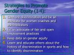 strategies to promote gender equity 1 4