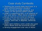 case study cambodia
