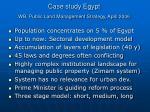 case study egypt wb public land management strategy april 2006