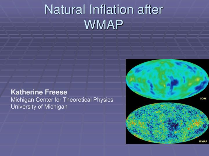 natural inflation after wmap n.