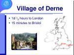 village of derne