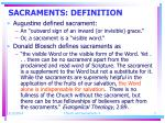 sacraments definition3