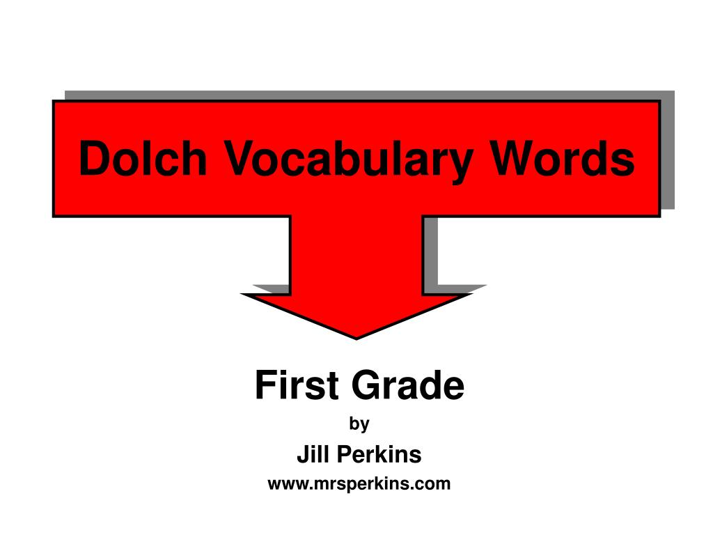 dolch vocabulary words l.