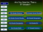 are you smarter than a 5 th grader2