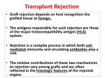transplant rejection