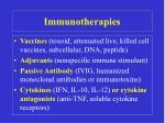 immunotherapies