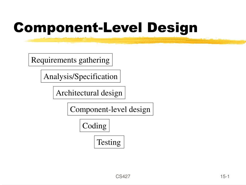 component level design l.