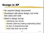 design in xp