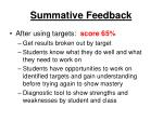 summative feedback17