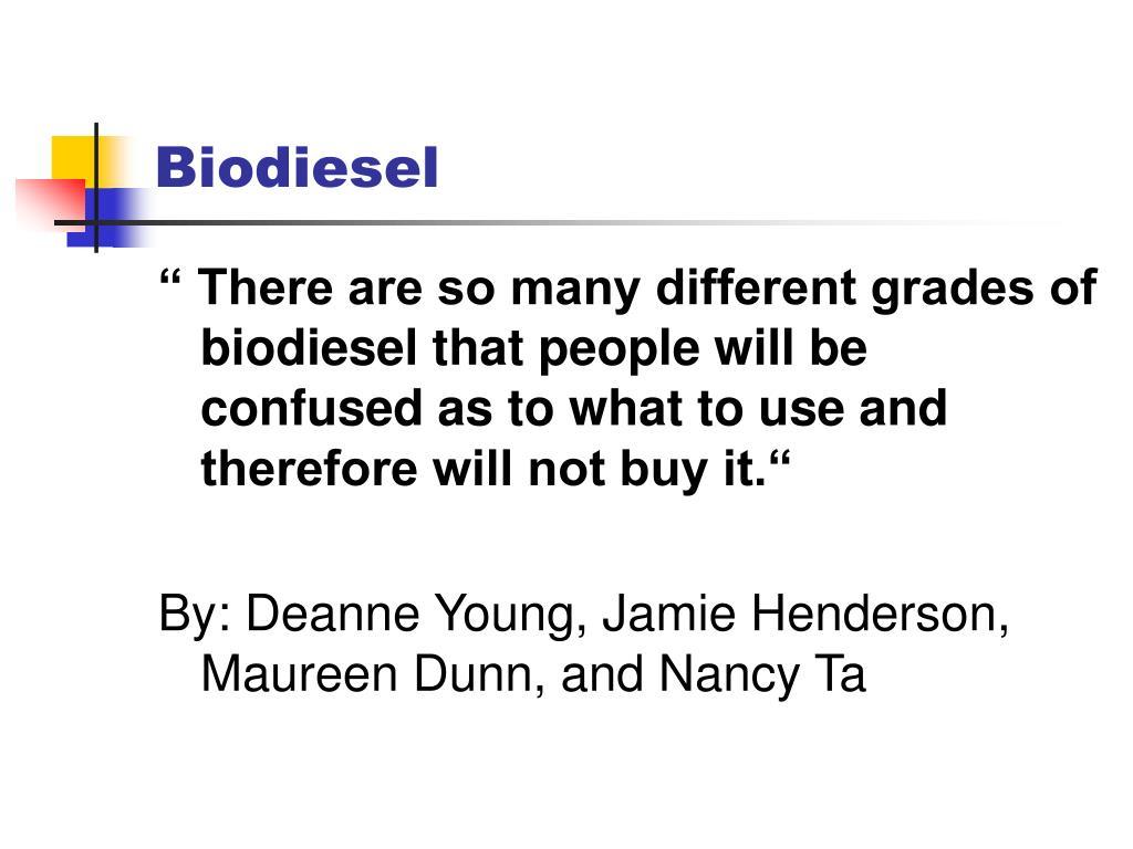biodiesel l.