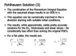 pohlhausen solution 3