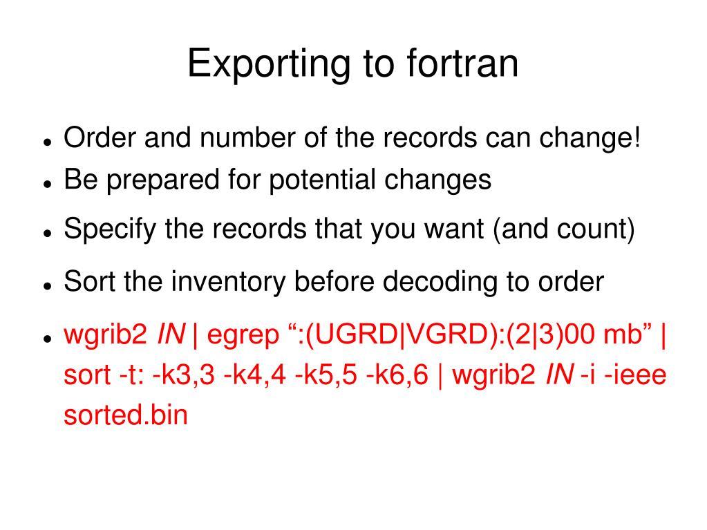 PPT - Grib2 PowerPoint Presentation - ID:357297