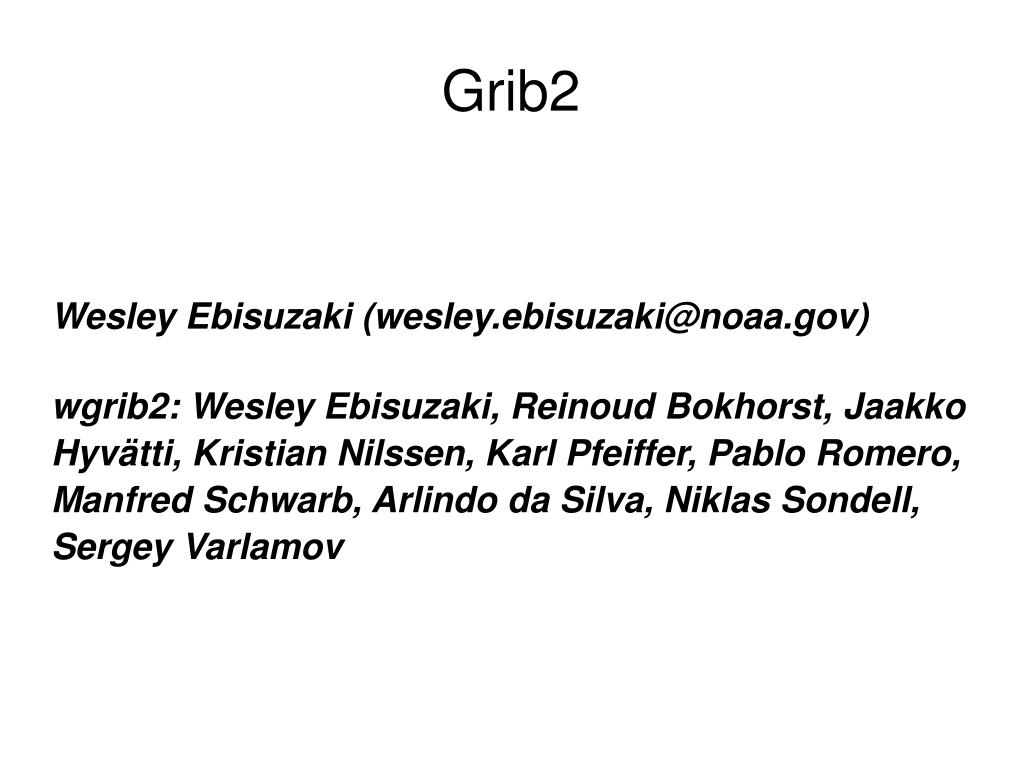 grib2 l.
