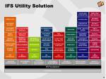 ifs utility solution