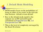 1 default mode modelling