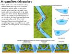 streamflow meanders
