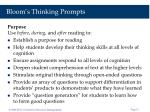 bloom s thinking prompts11