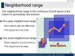 neighborhood range