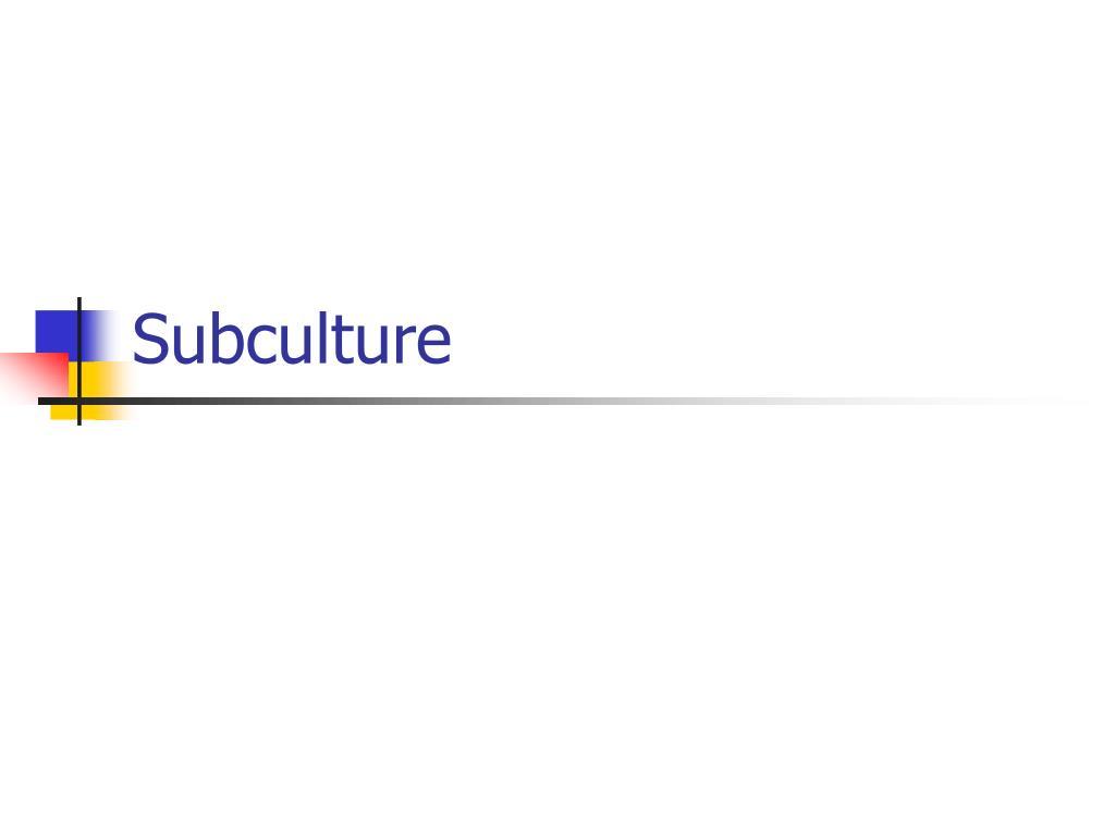 subculture l.