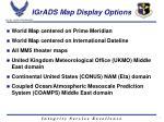 igrads map display options