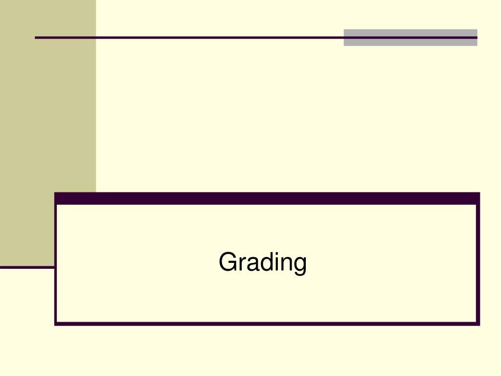 grading l.