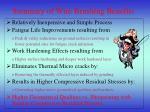 summary of wire brushing benefits