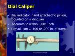 dial caliper