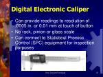 digital electronic caliper