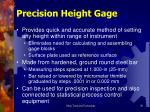 precision height gage
