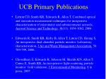 ucb primary publications