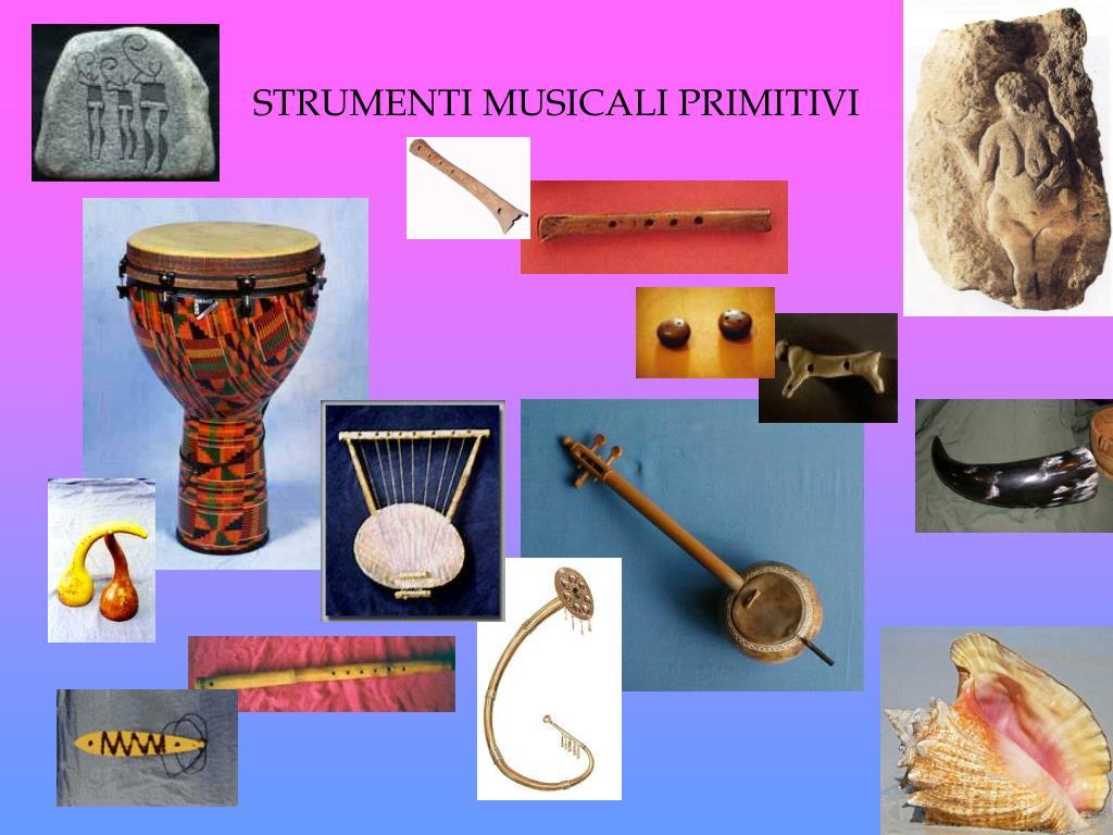 strumenti musicali primitivi l.