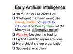 early artificial intelligence