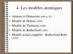 4 les mod les atomiques