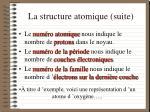 la structure atomique suite42