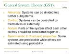 general system theory gst9
