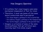 how imagery operates