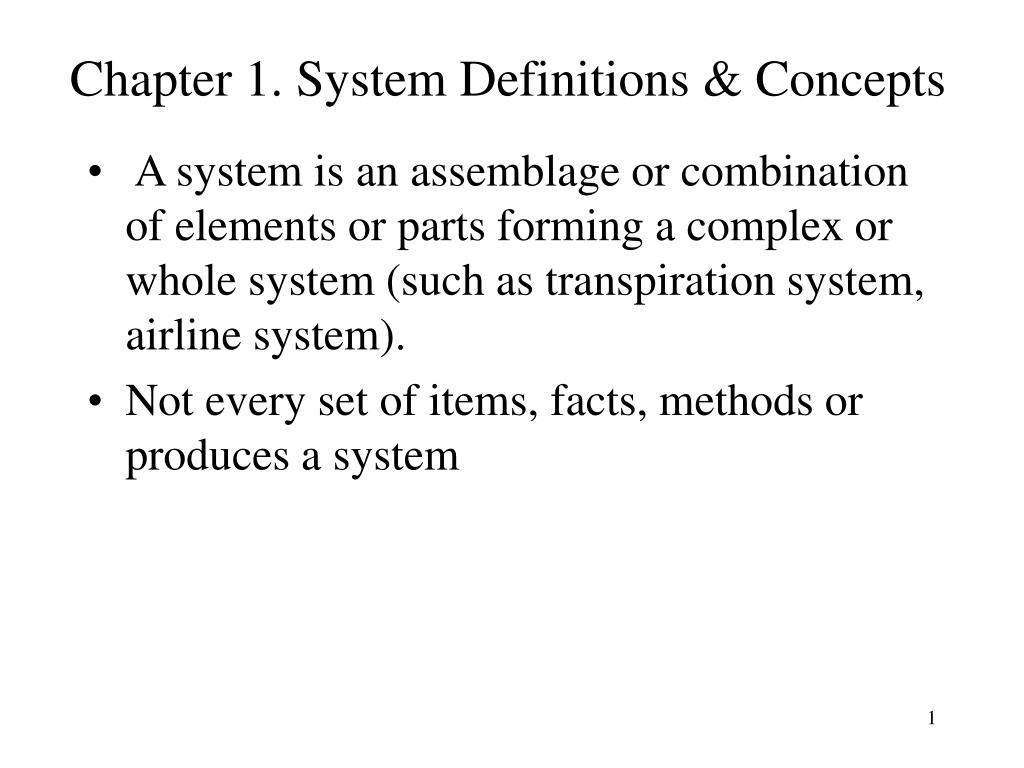 chapter 1 system definitions concepts l.