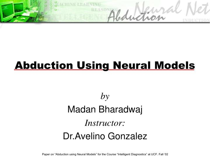 abduction using neural models n.