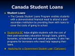 canada student loans
