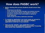 how does pasbc work
