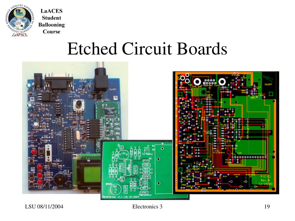 Etched Circuit Boards